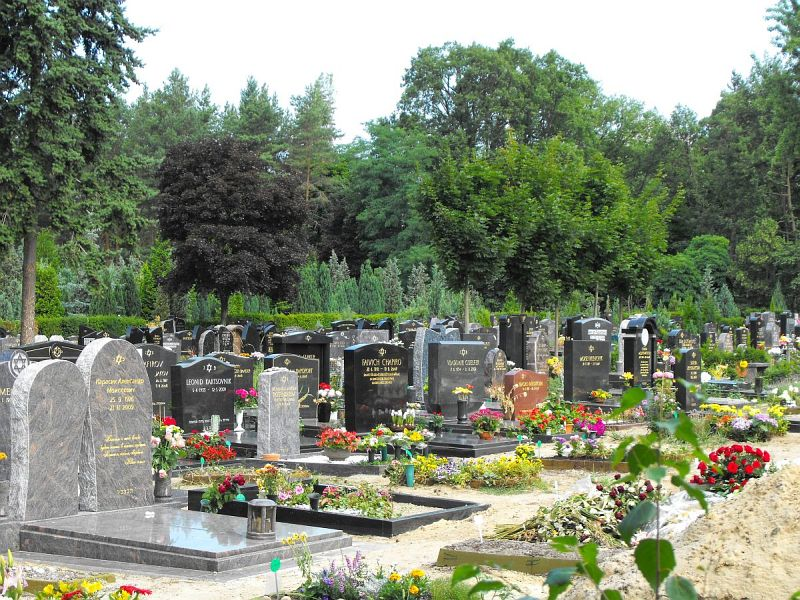 Friedhof - Ansichten » Berlin-Charlottenburg - Jüdischer