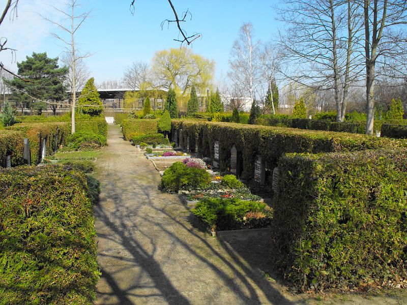 Friedhof Ansichten Berlin Hellersdorf Friedhof