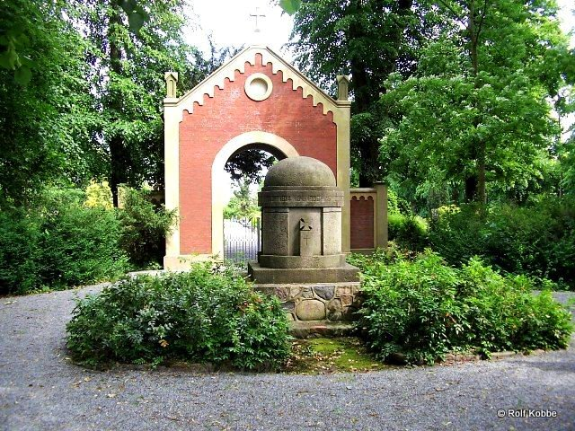 Friedhof Ansichten 187 Sandstedt Garten Friedhof