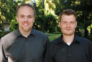Matthias Meitzler (re.) und Dr. Thorsten Benkel